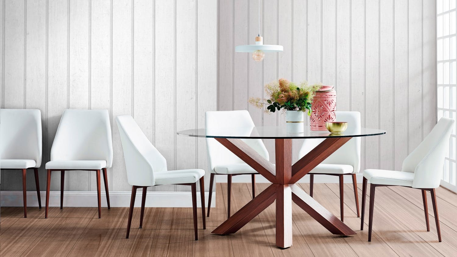 leahlyn set kcp by sets finish furniture wayside collections signature ashley dining round design piece item room table cherry