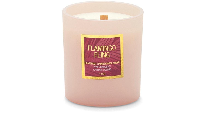 Salt & Pepper Lush Candle - Flamingo Fling