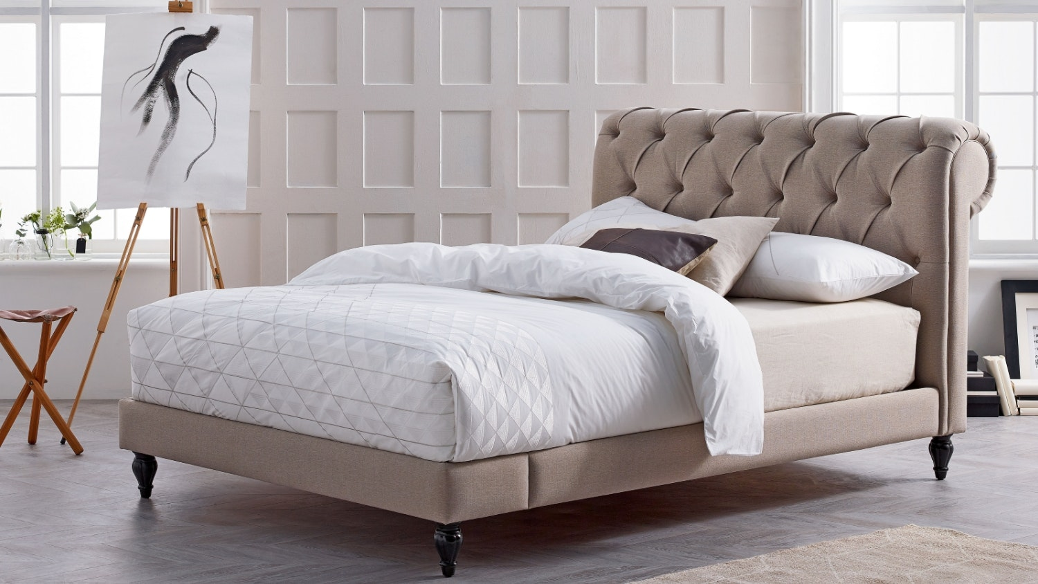 Chester Fabric Bed Frame