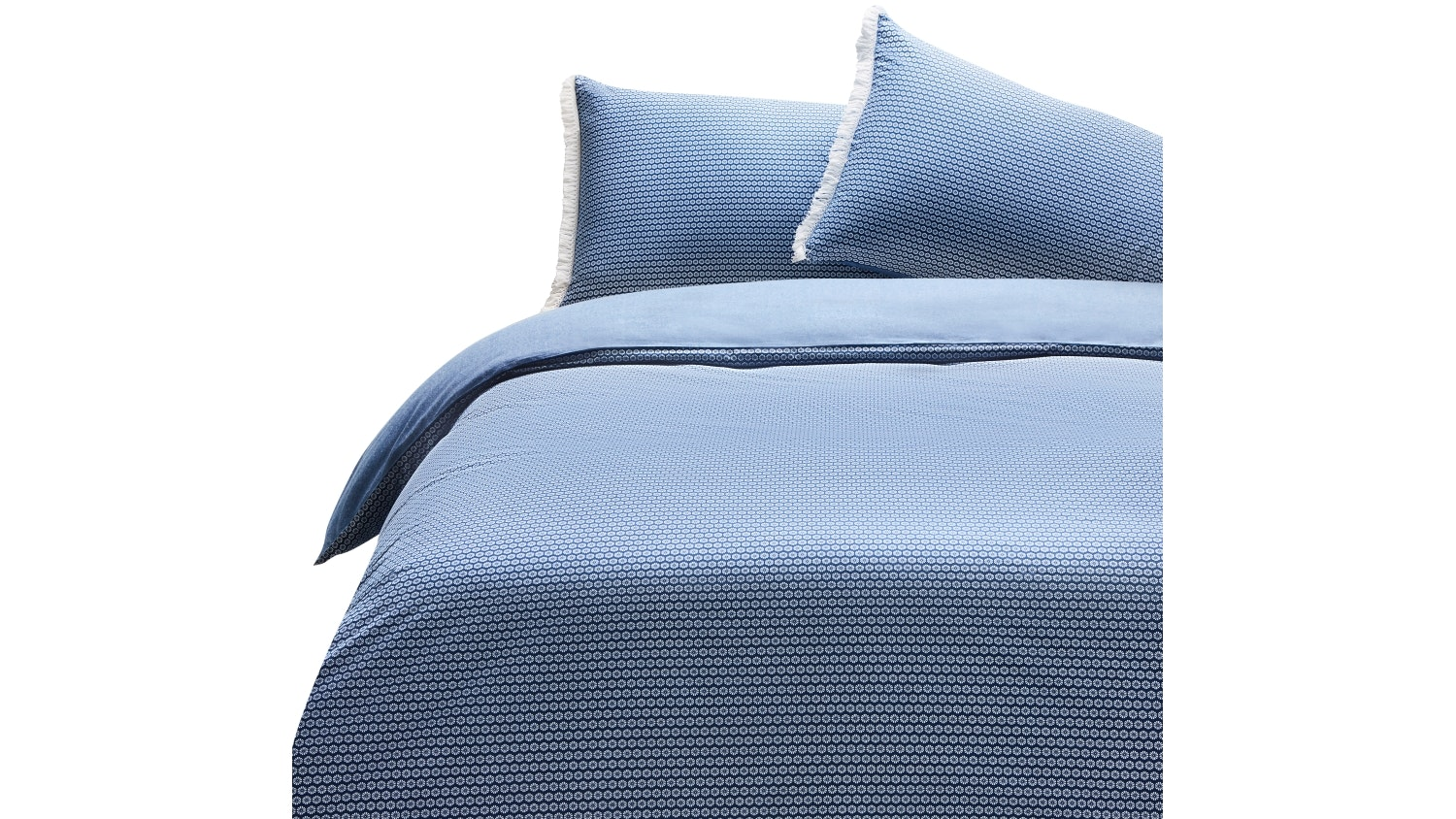 Shannon Fricke Navy Callisto Quilt Cover Set