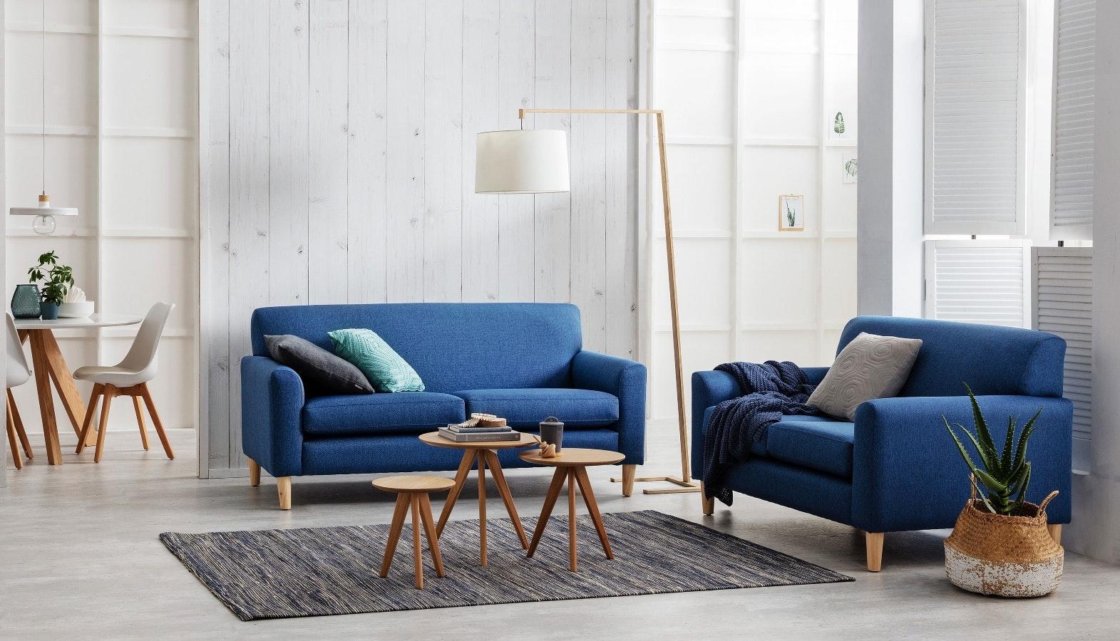Mira Fabric Sofa
