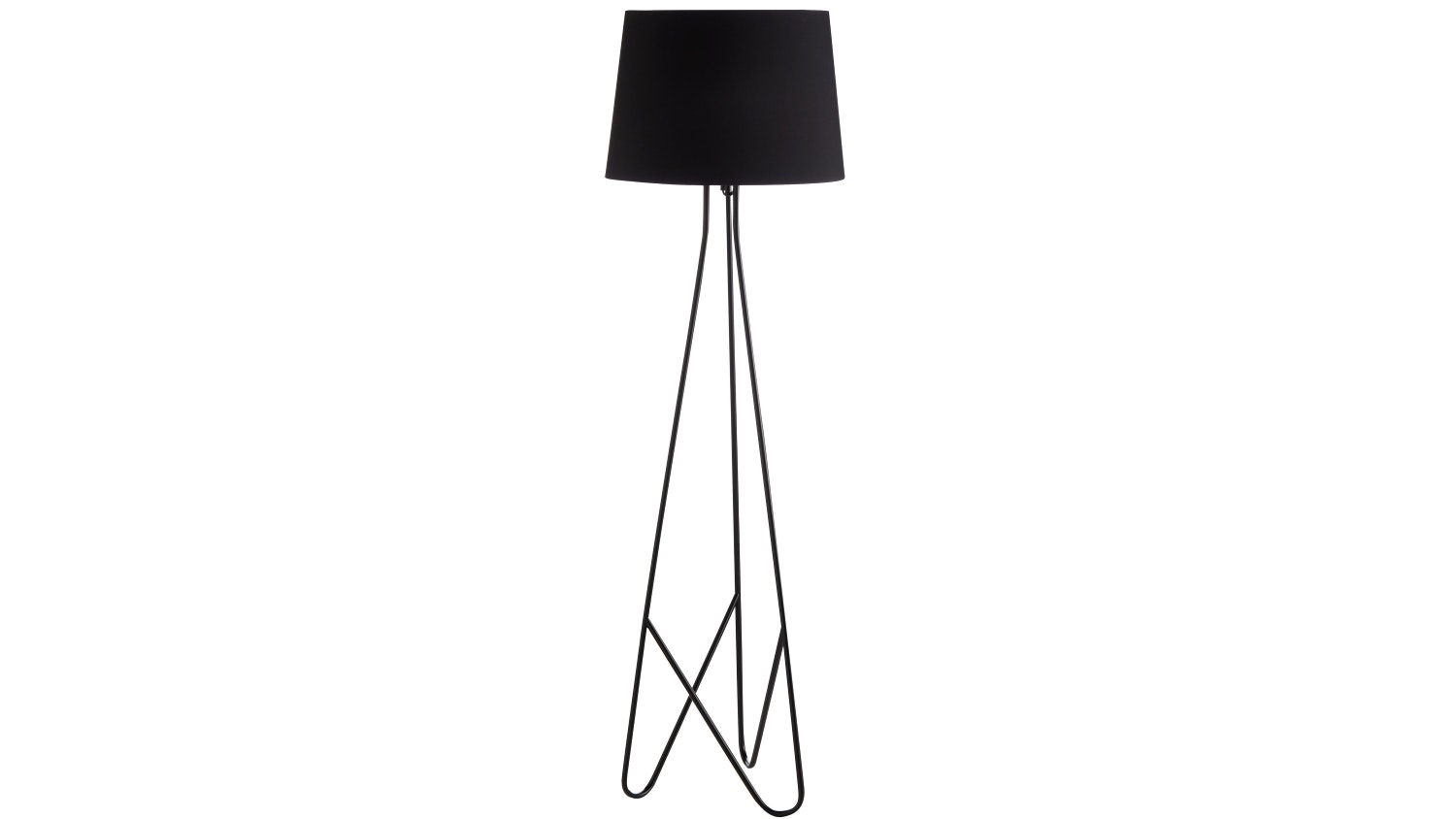 Boston Floor Lamp - Black