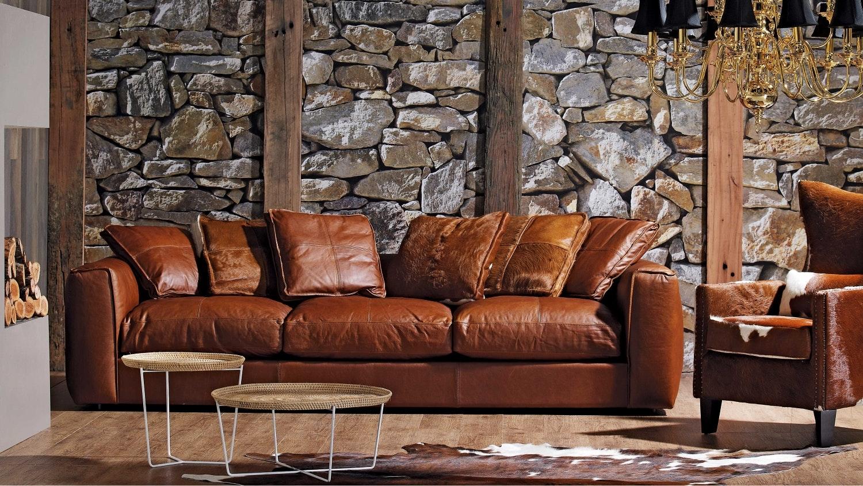 Hugh Leather Sofa