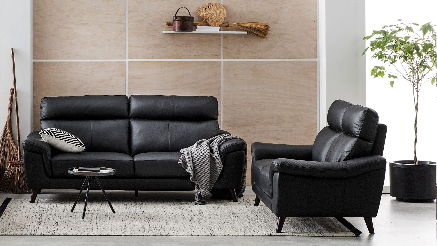 Roma Leather Sofa