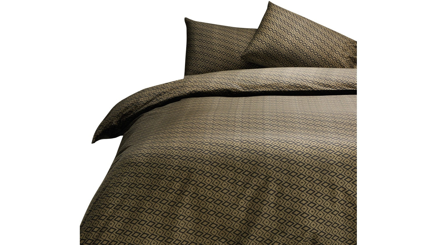 Domayne Luxuries Ridge Quilt Cover Set