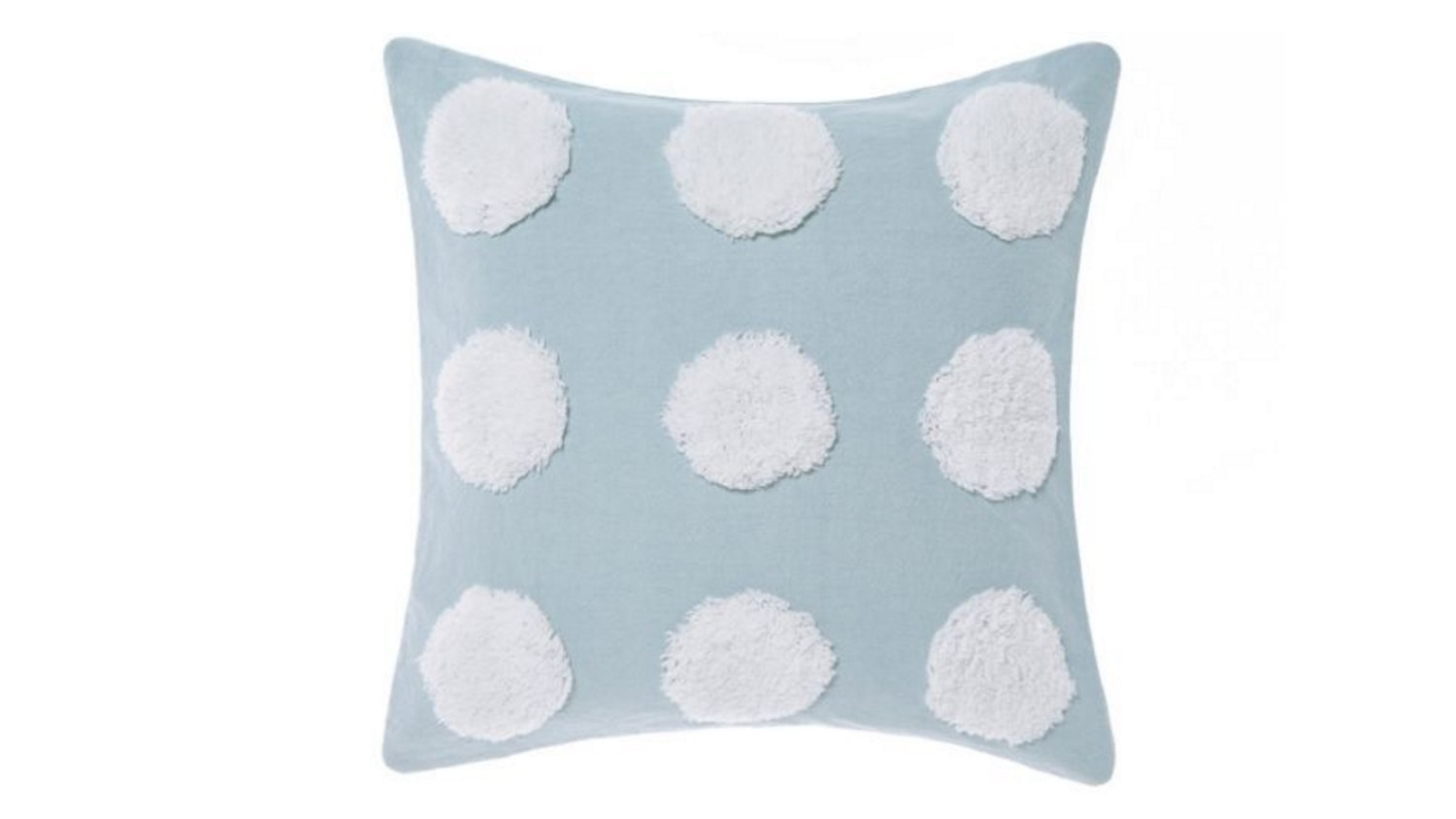 Linen House Haze Cushion - Blue & White