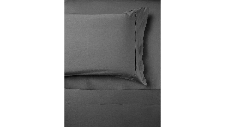 Domayne Luxuries 500TC Steel Grey Sheet Set