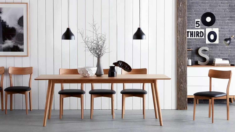 Retro Oak Dining Chair