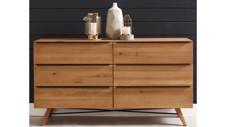 Rimini 6 Drawer Dresser