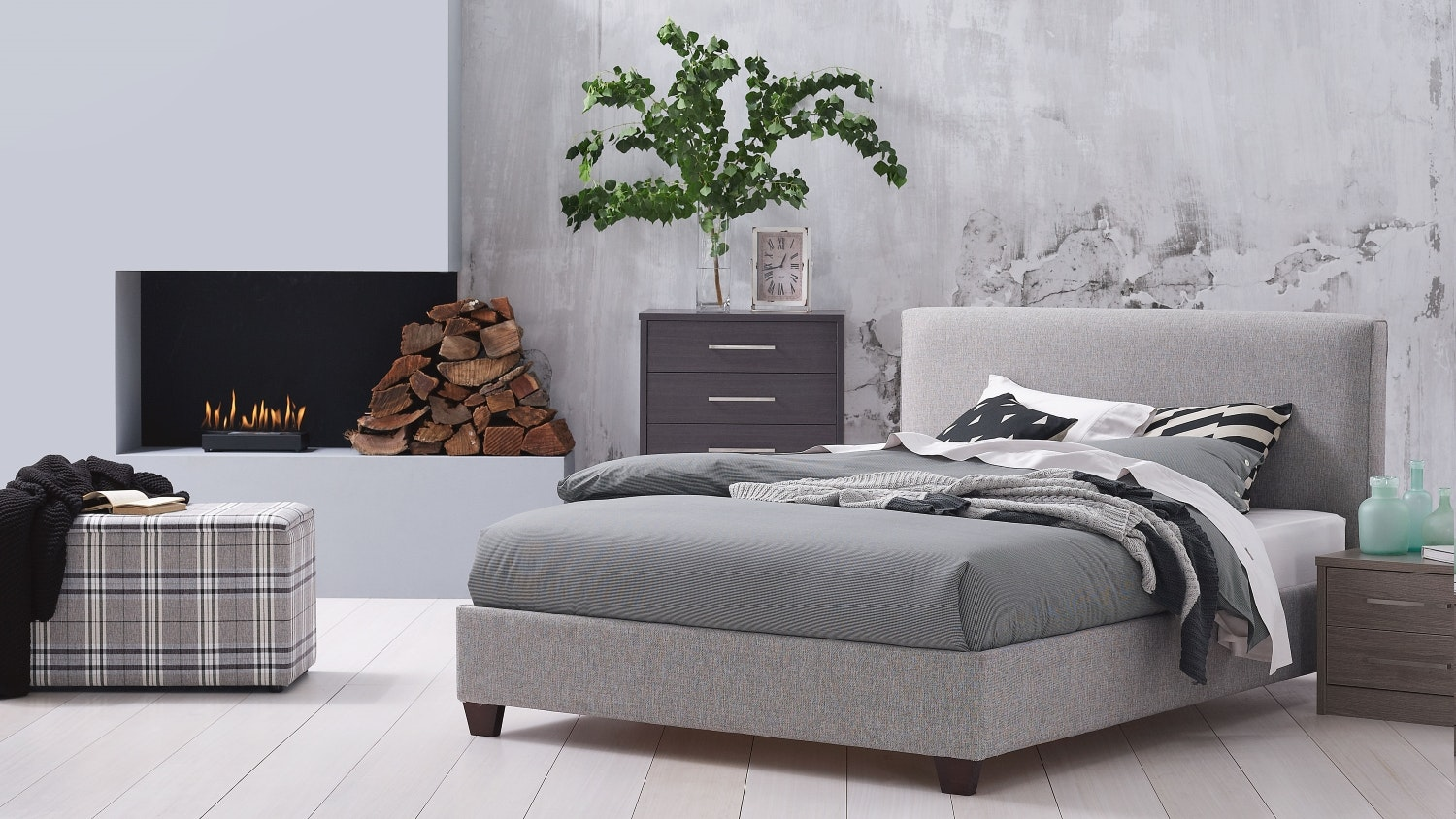 Dasch Fabric Bed Frame