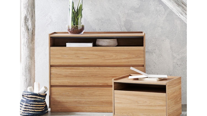 Capri 3 Drawer Dresser