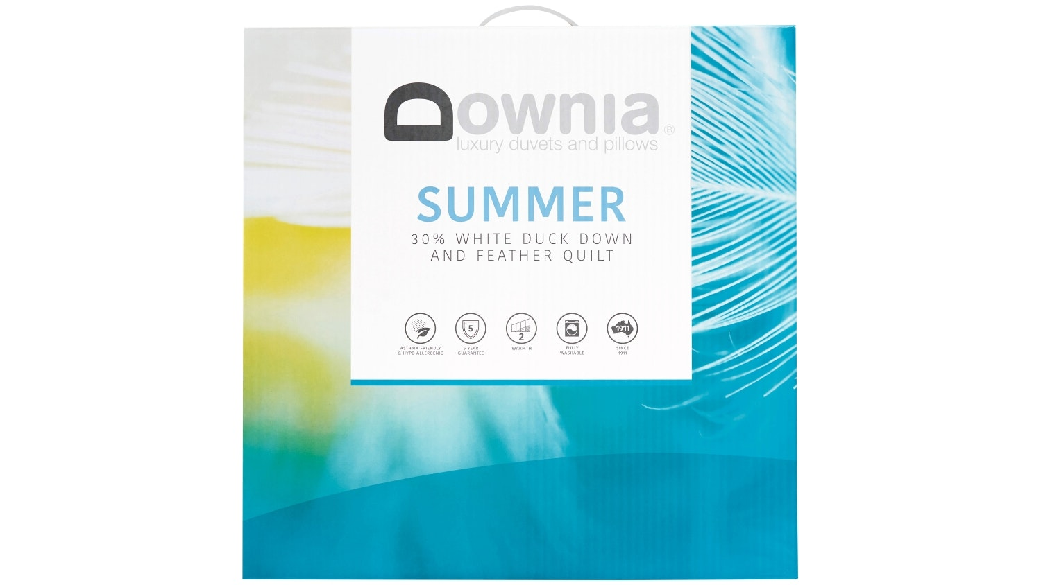 Downia Summer Down & Feather Quilt