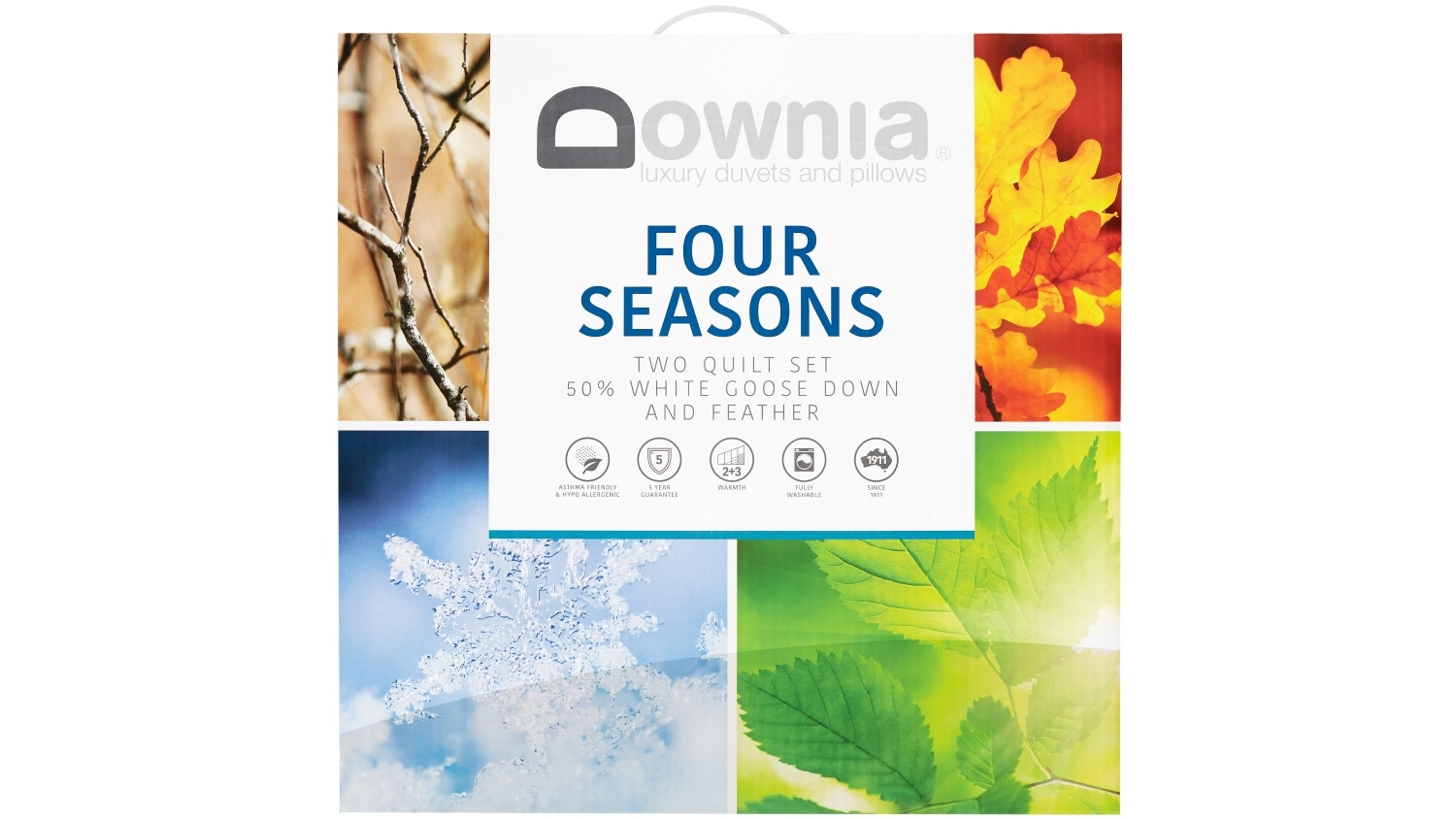 Downia Four Seasons Down & Feather Quilt