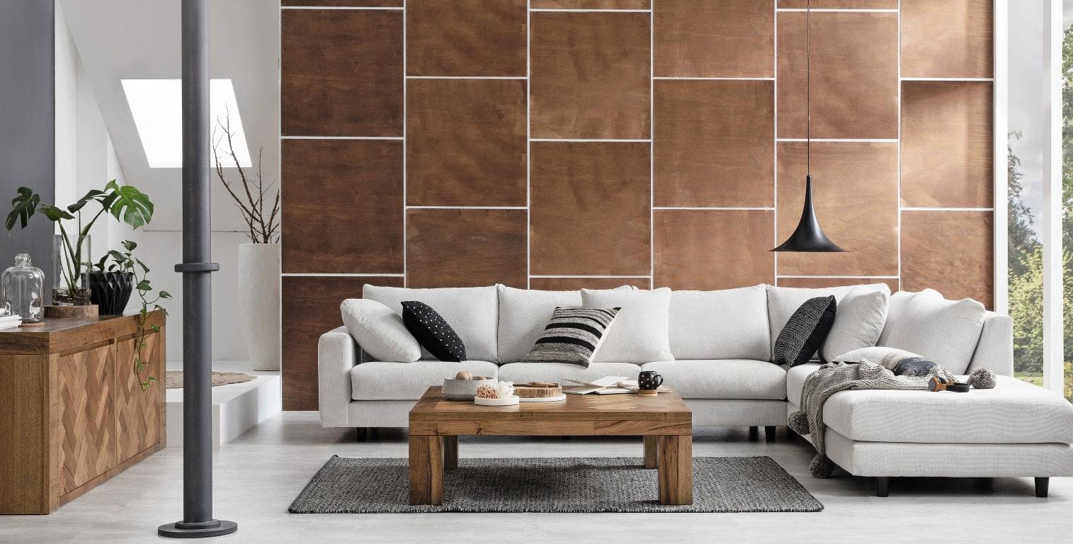 Ramba 4 Seater Fabric Lounge