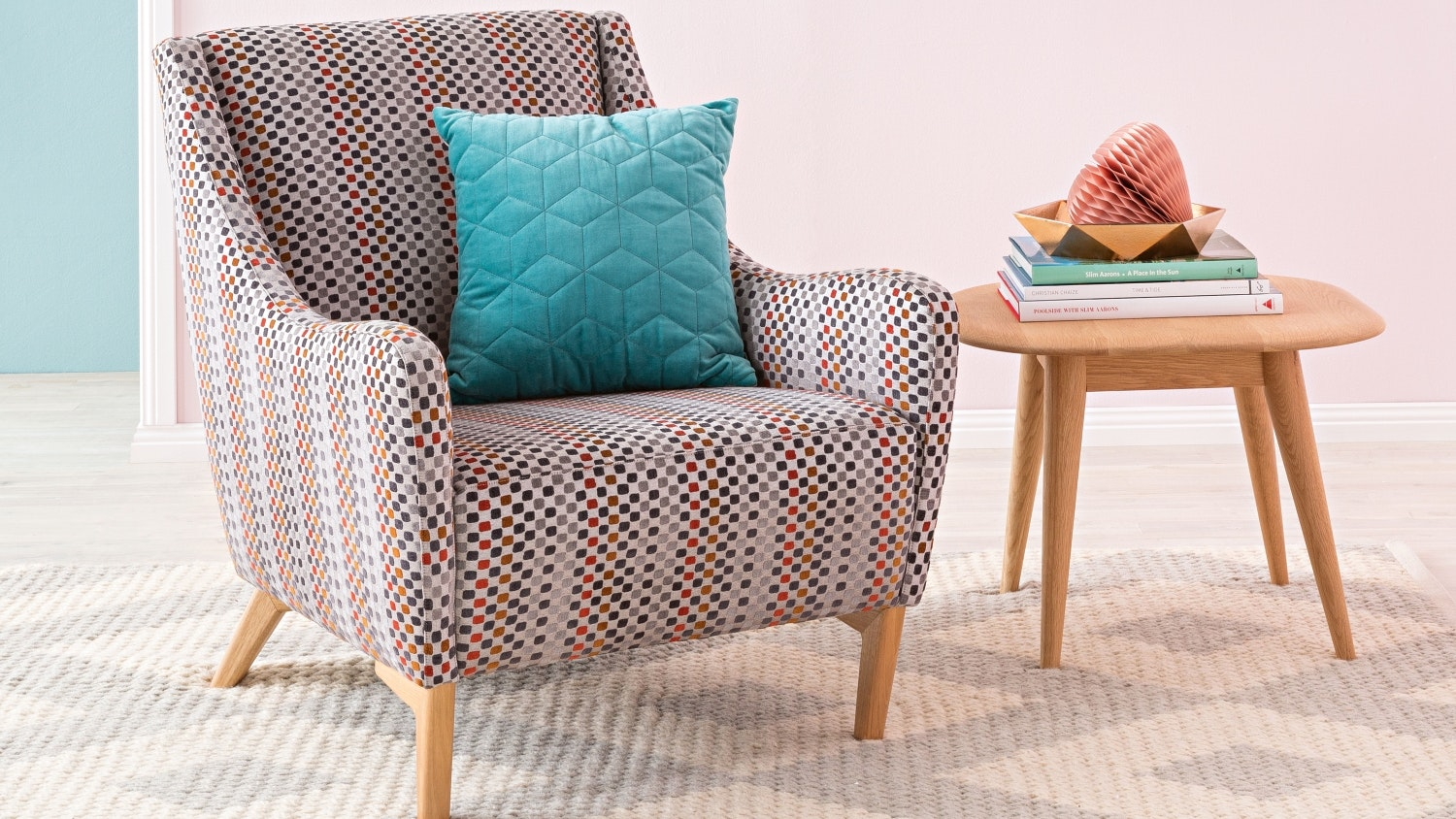 Scandi Fabric Armchair