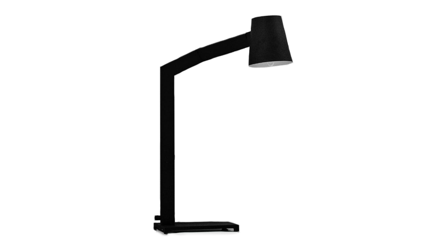 Pole Tilt Study Lamp - Black