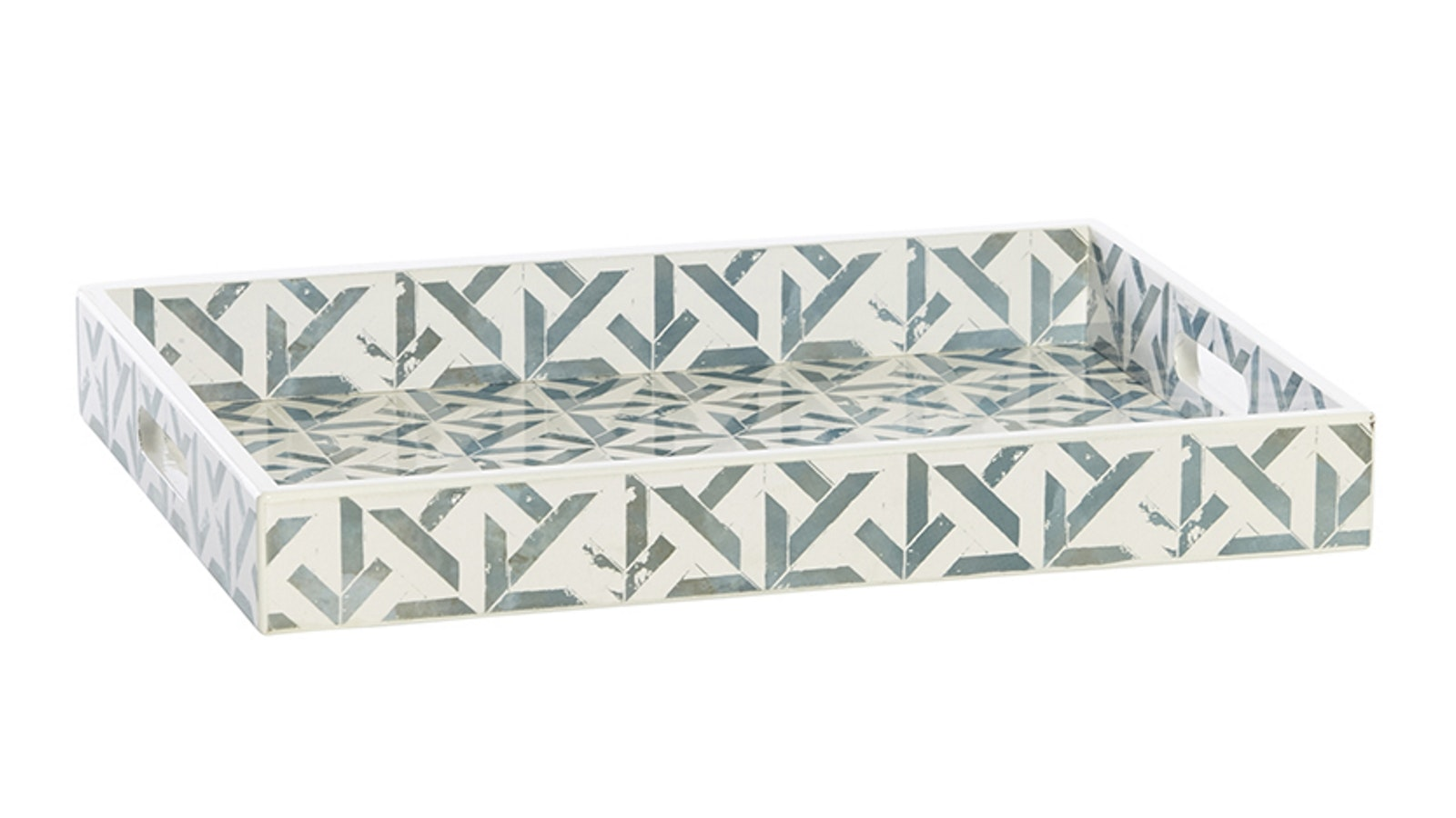 Coast Kingsbury Laquered Tray Seafoam
