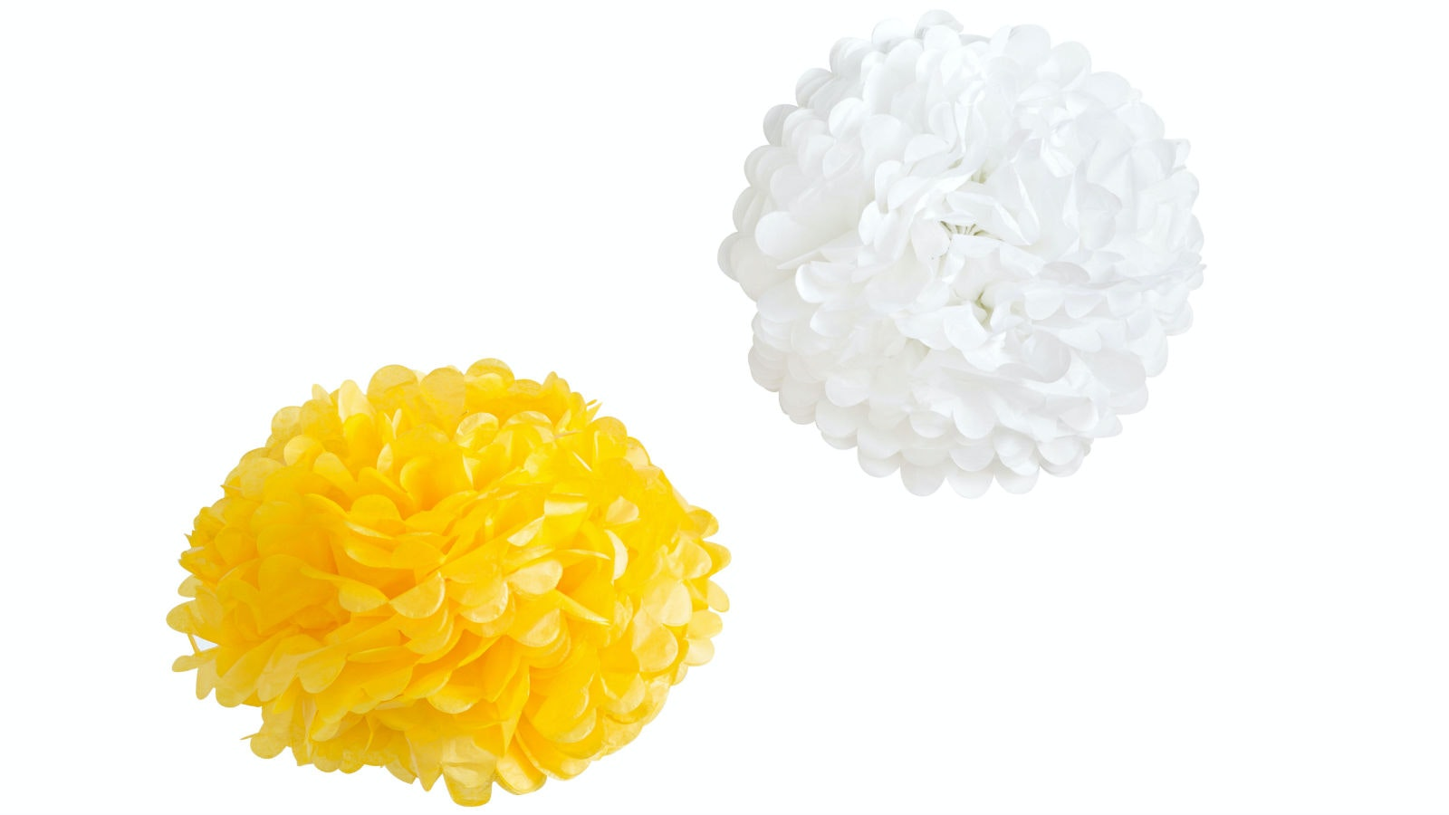 Tissue Pom Pom Large (Box of 5)