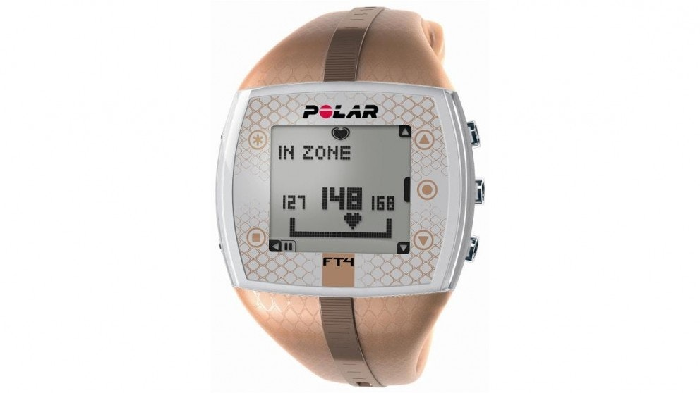 Polar FT4 Heart Rate Monitor - Brown