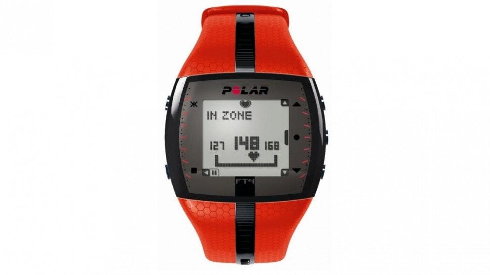 Polar FT4 Heart Rate Monitor - orange