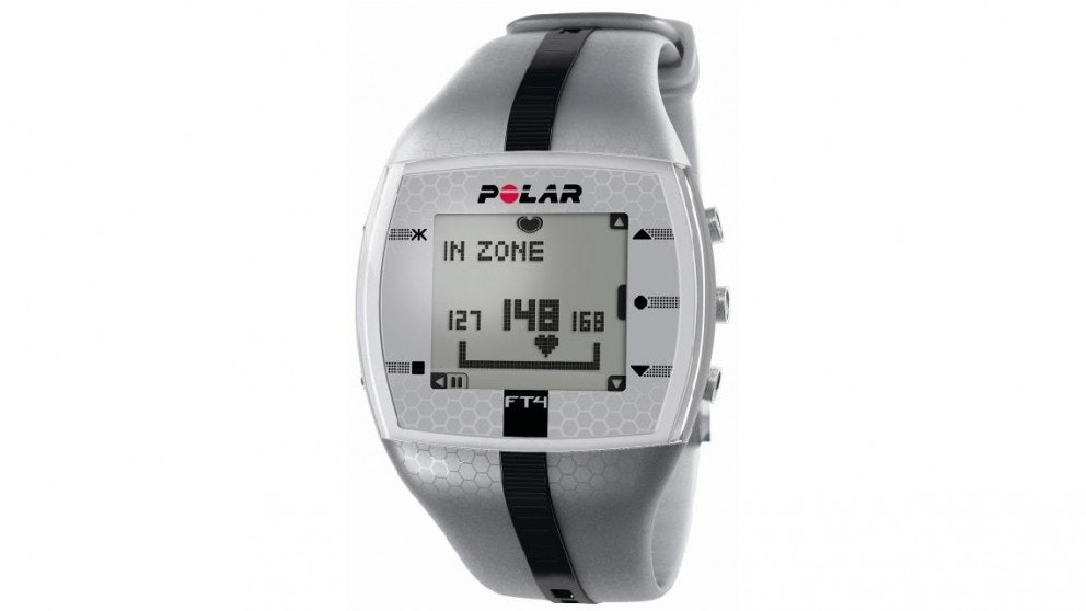 Polar FT4 Heart Rate Monitor - silver
