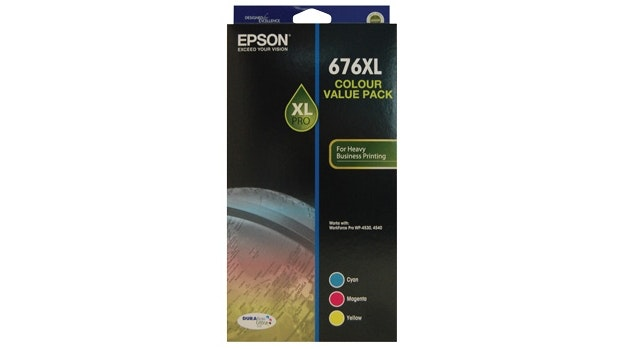 Epson 676XL Three Colour Value Pack