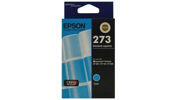 Epson 273 Standard Capacity Claria Premium - Cyan Ink Cartridge