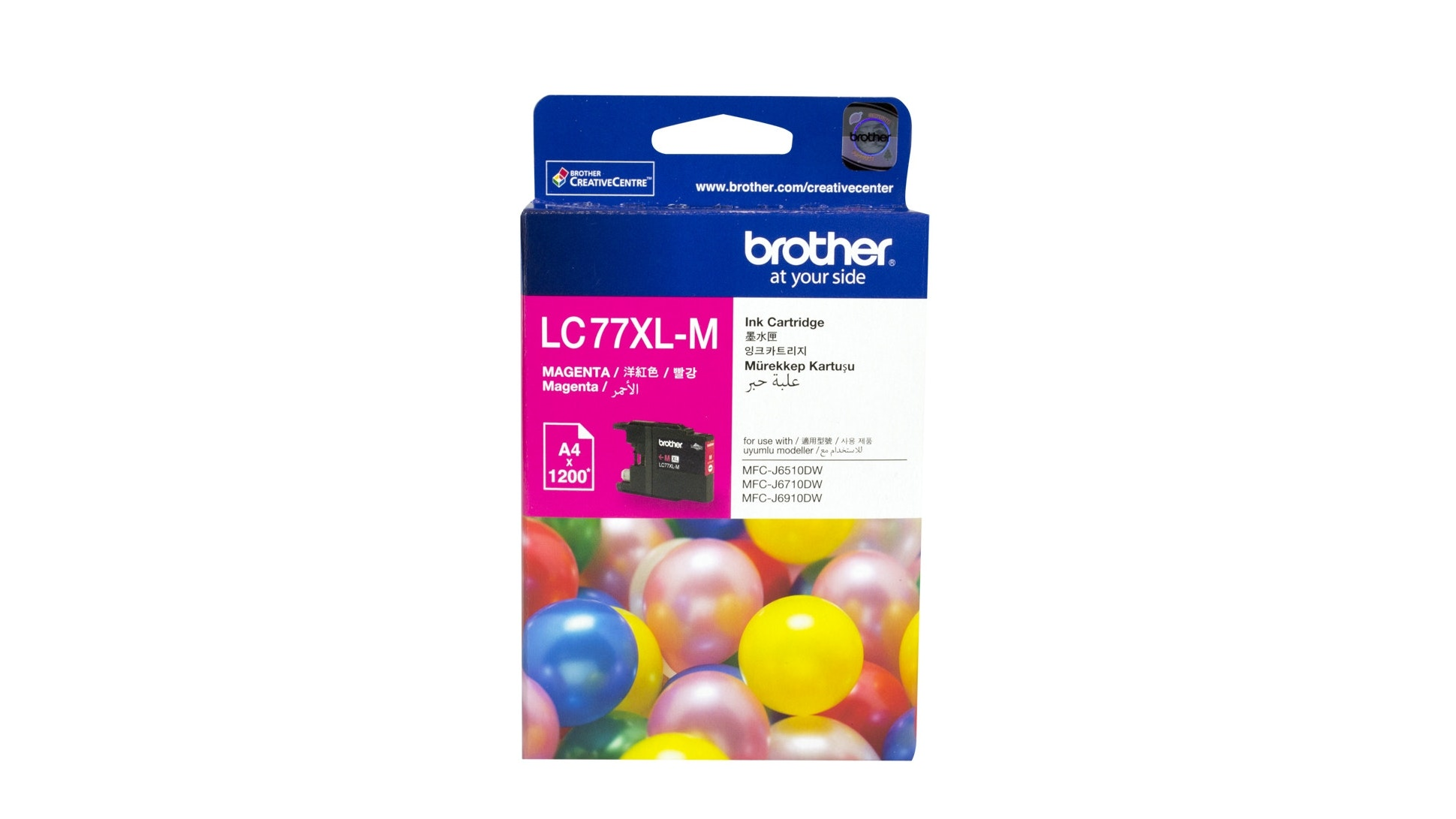 Brother LC-77XLM Magenta Ink Cartridge