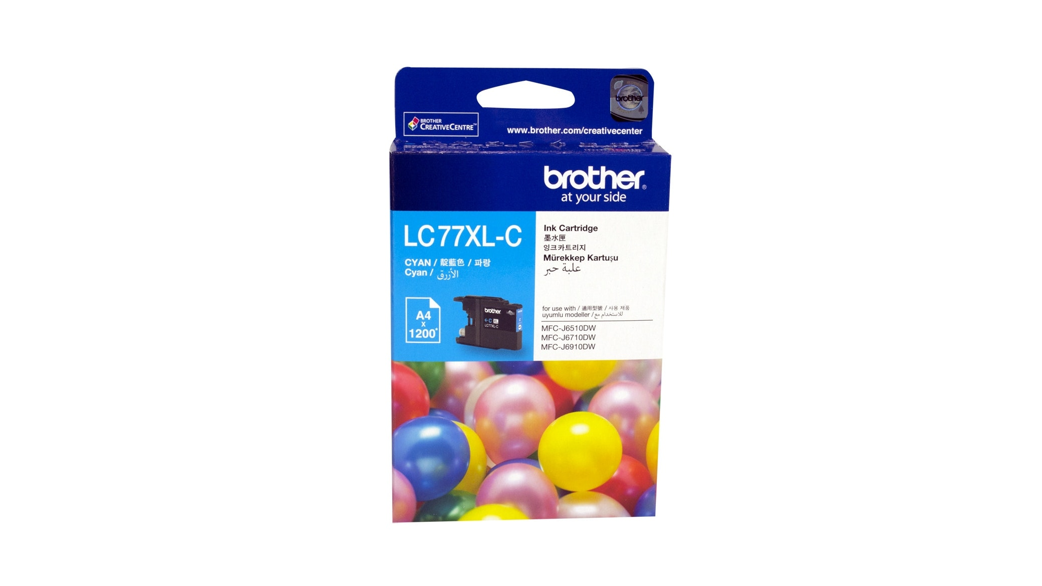 Brother LC-77XLC Cyan Ink Cartridge