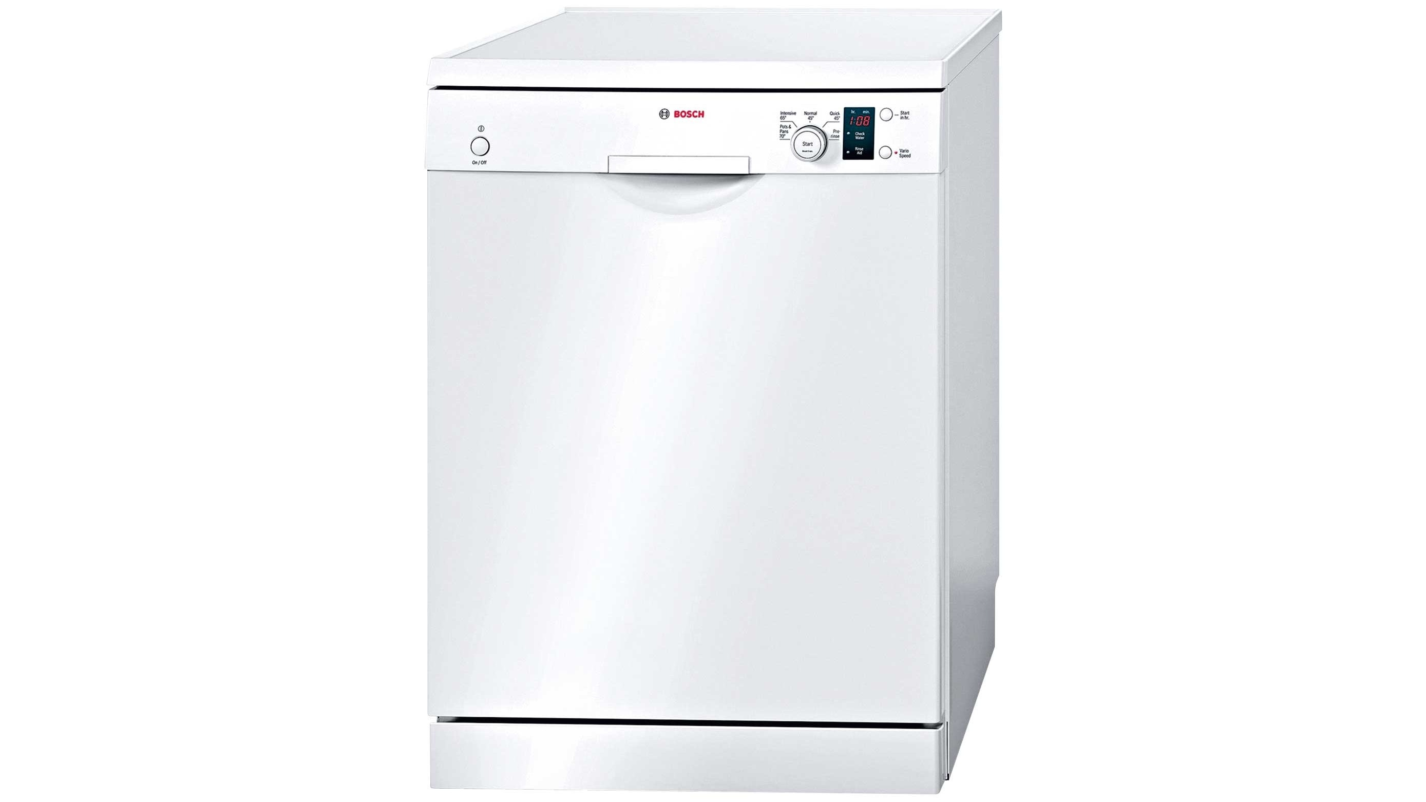Bosch SMS50E32AU White Freestanding Dishwasher