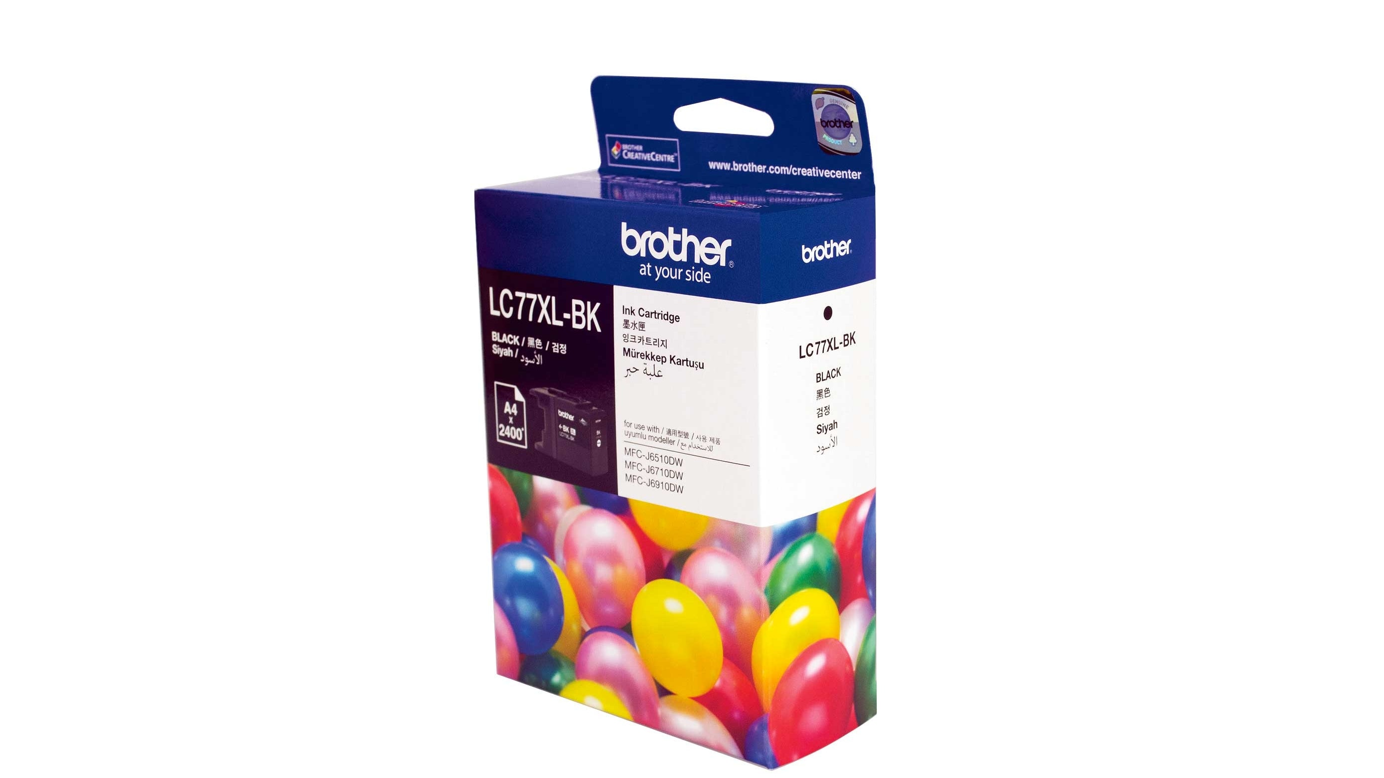 Brother LC-77XBK Black Ink Cartridge