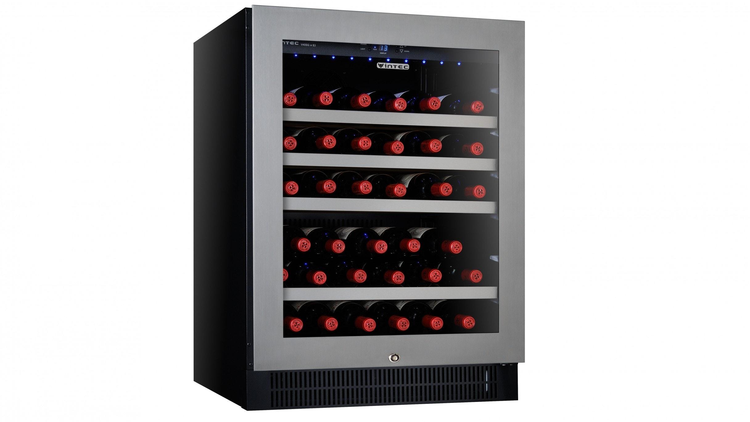 Vintec V40SGES3 50 Bottle Single Zone Wine Cabinet