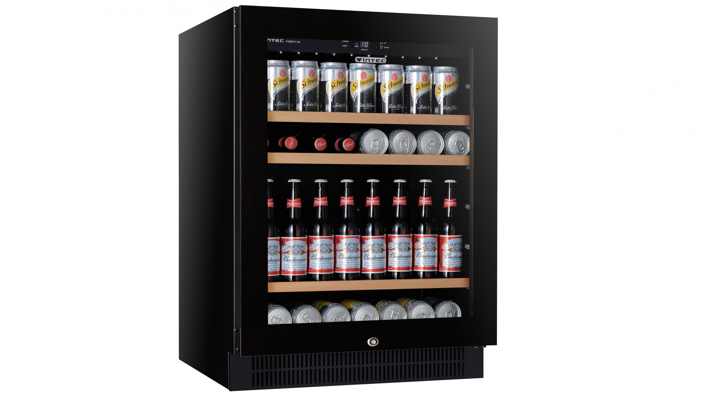 Vintec V40BVCBK 100 Cans Single Zone Beer Fridge