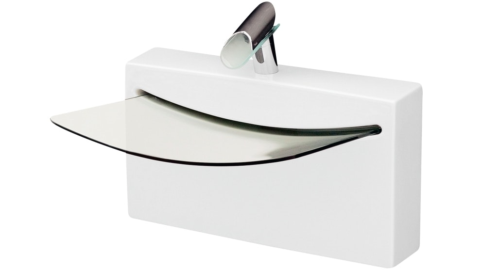 Parisi Crystal Wall Basin