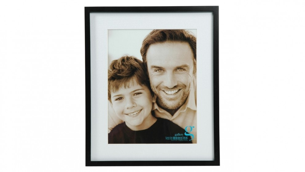 "UR1 Gallery 15""x18"" Photo Frame with 11""x14"" Opening - Black"