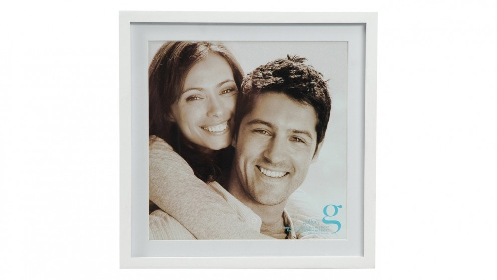 "UR1 Gallery 14""x14"" Photo Frame with 12""x12"" Opening - White"
