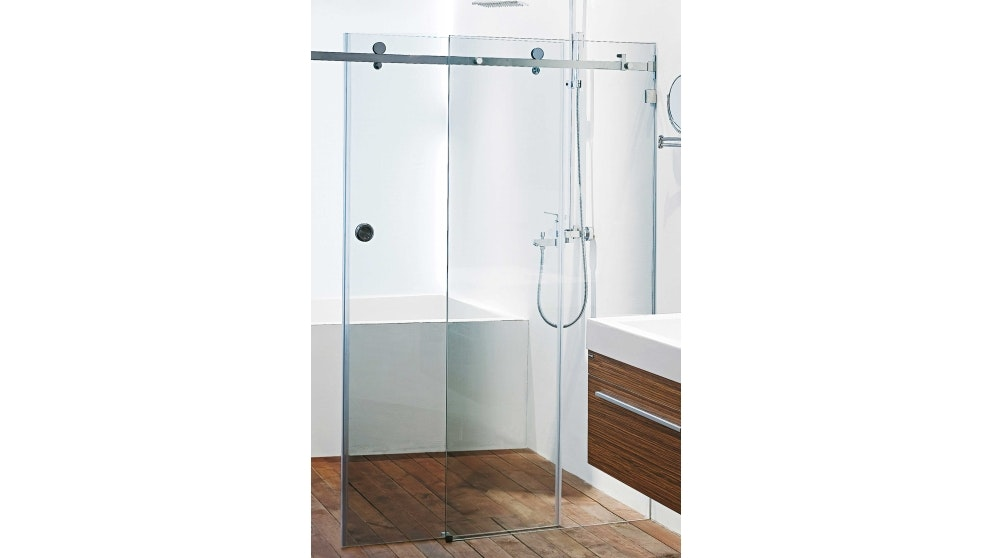 Wet Design Frameless 2 Panel Slider