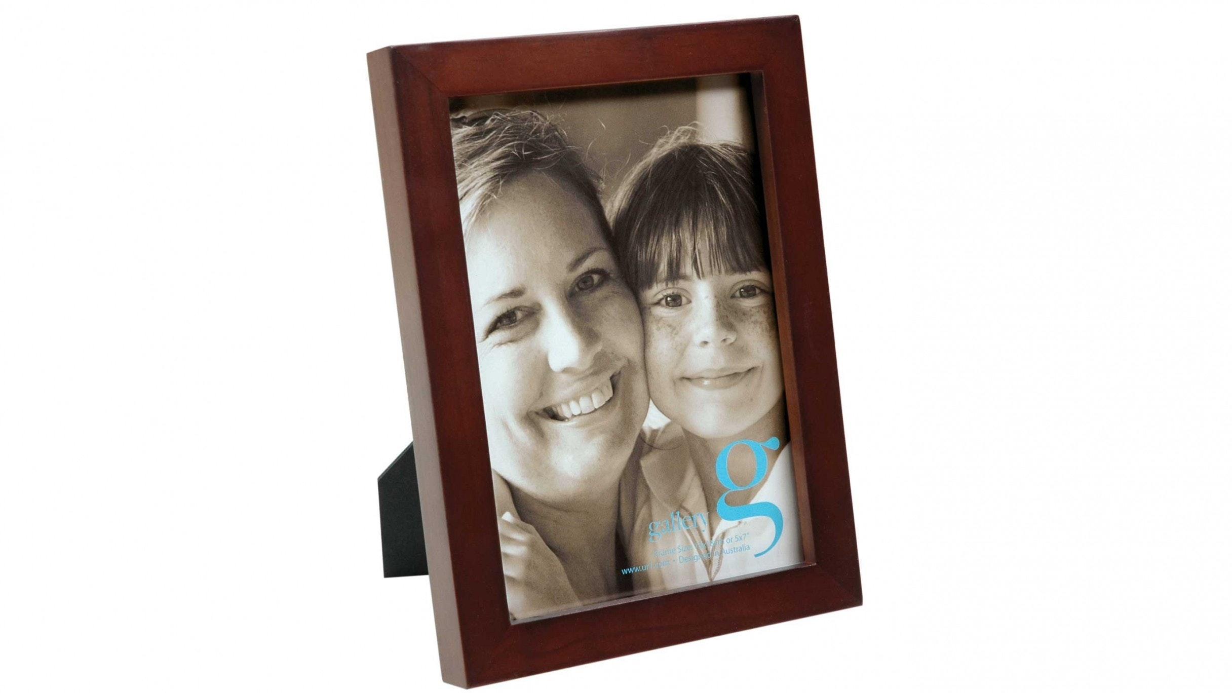 "UR1 Gallery 5""x7"" Photo Frame - Walnut"