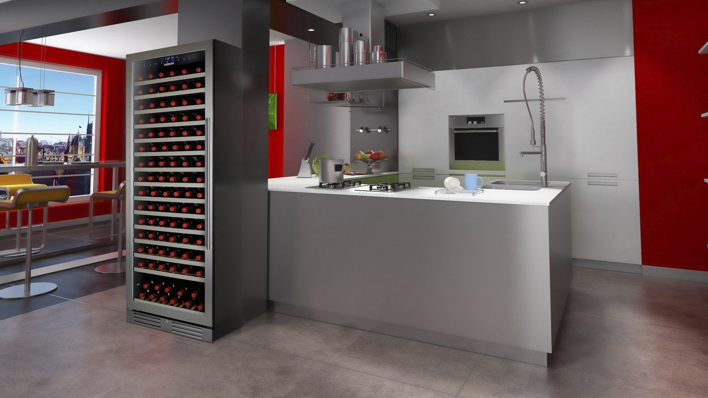Vintec V155SGES3 166 Bottle Single Zone Wine Cabinet