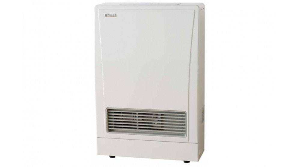 Rinnai EnergySaver 309FT Flued LPG Fan Heater - White