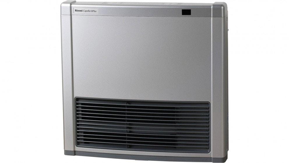 Rinnai Capella 18 Plus LPG Convertor Heater - Platinum Silver