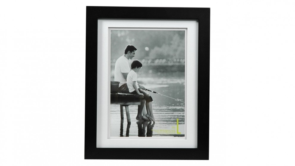 """UR1 Life 11"""" x 14"""" with A4 Opening Photo Frame - Black"""
