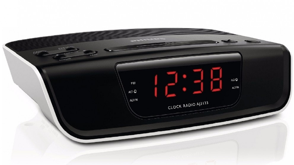 Philips Digital Tuning Clock Radio
