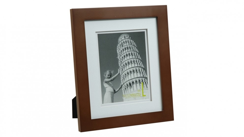 "UR1 Life 9"" x 11"" with 6"" x 8"" Opening Photo Frame - Mocha"