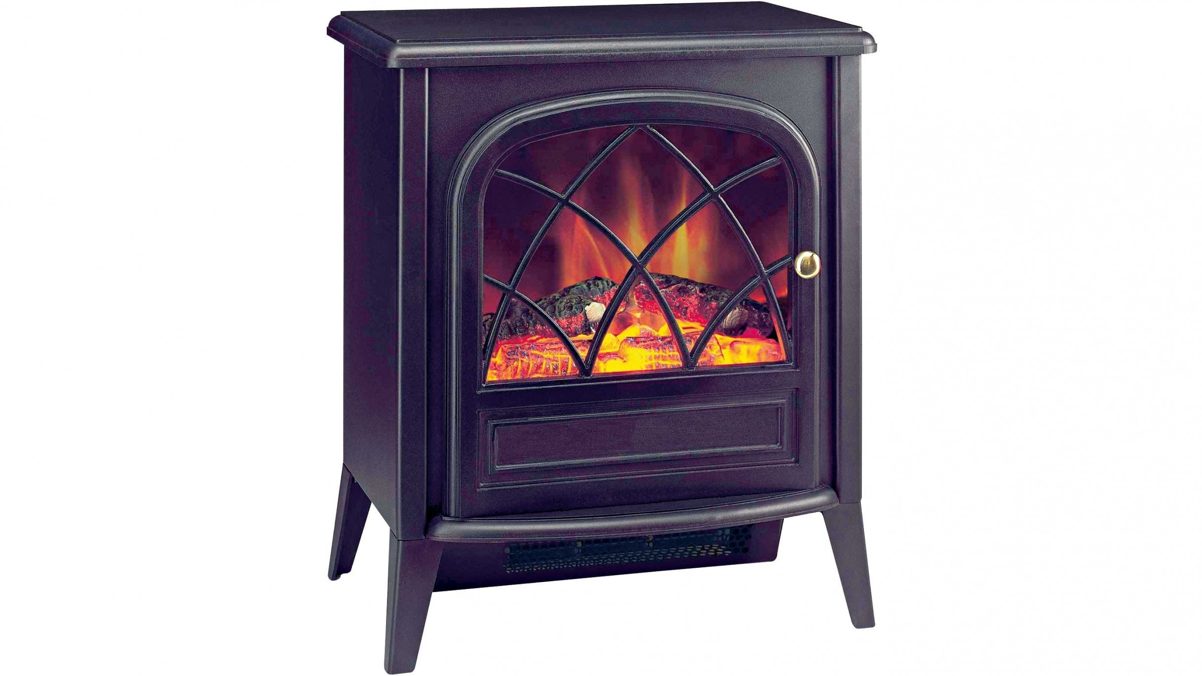 dimplex ritz portable electric fire with optiflame log effect