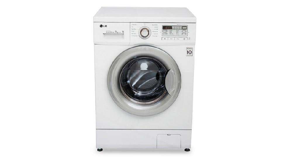 LG 7kg 1200rpm Front Load Washing Machine