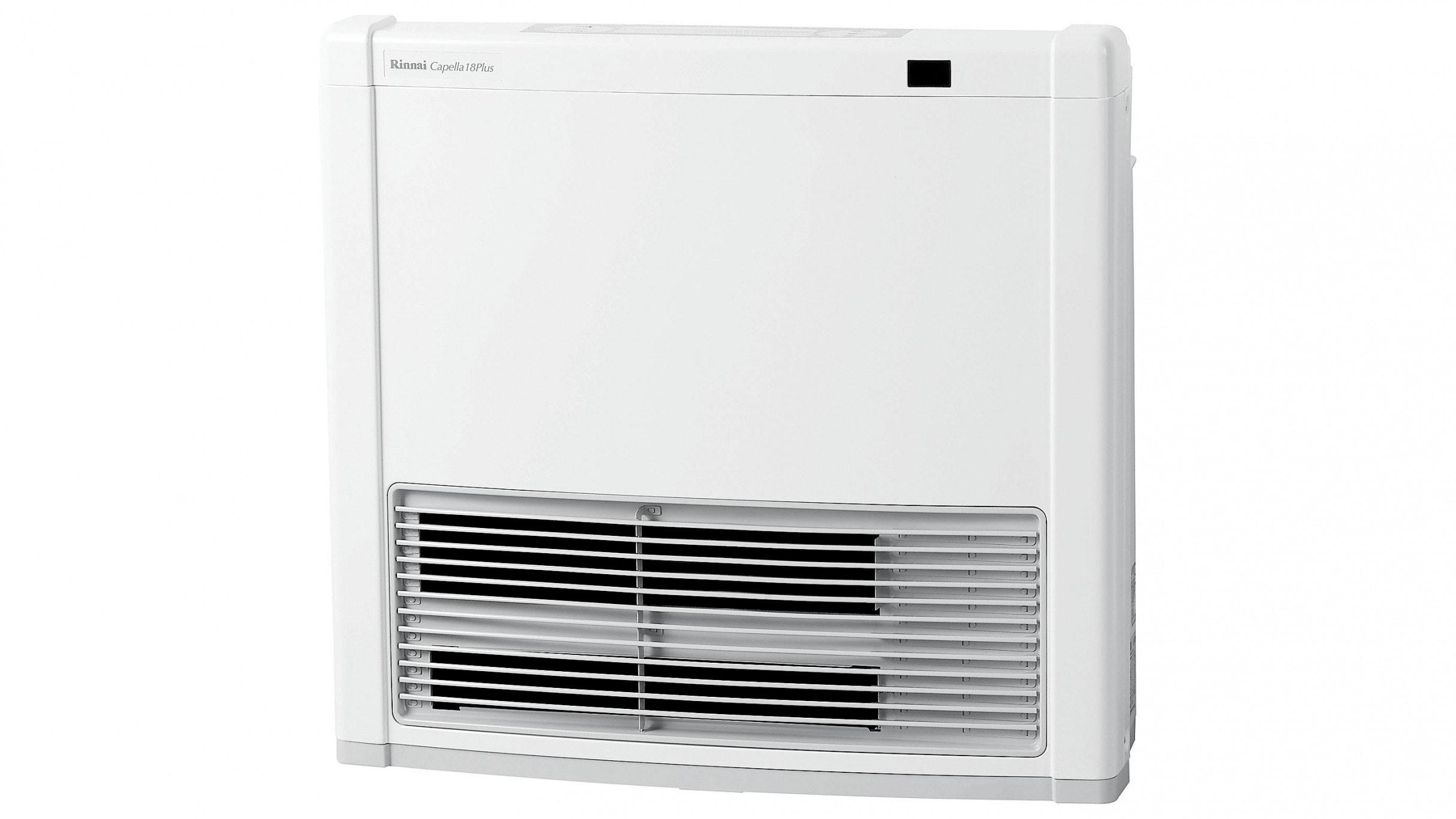 Rinnai Capella 18 Plus Natural Gas Convertor Heater - White