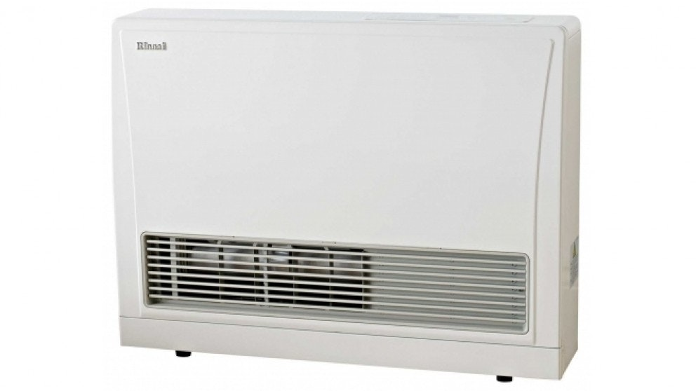 Rinnai EnergySaver 559FT Flued Natural Gas Fan Heater - White