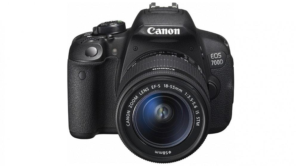 Canon EOS 700D DSLR Camera Single Lens Kit