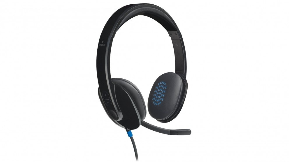 Logitech H540 USB Headset - Black